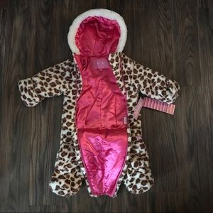5a6cffb6f wippette Jackets & Coats - 🆕NWT Leopard Print Baby Bunting - Snowsuit